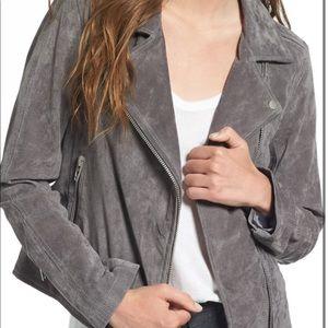 Grey suede Blank NYC jacket